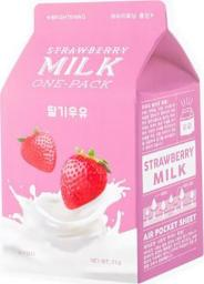 Apieu Maseczka Milk One-pack Brightening Strawberry 20g
