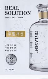 Missha Maseczka do twarzy Real Solution Tencel Sheet Mask Wrinkle Caring Face Mask 25g