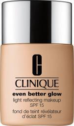 Clinique Podkład do twarzy Even Better Glow Light Reflecting Makeup Spf15 WN 38 Stone 30ml
