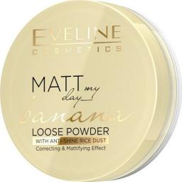 Eveline Puder sypki Matt My Day Banana Loose Powder Correcting&Mattifying 6g