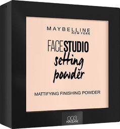 Maybelline  Puder do twarzy Face Studio Setting Powder 003 Porcelaine 9g