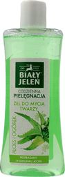 Biały Jeleń Żel do mycia twarzy Codzienna Pielęgnacja Aloes&Ogórek 265ml