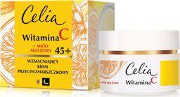 Celia Krem do twarzy Witamina C 45+ Miód Akacjowy przeciwzmarszczkowy 50ml