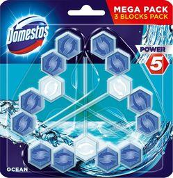 Domestos DOMESTOS_Power 5 kostka toaletowa Ocean 3x55g
