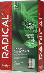 Farmona Ampułki do włosów Radical Anti-Hair Loss Treatment przeciw wypadaniu 15x5ml