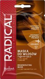 Farmona Radical Regenerating Maska regenerująca maska do włosów suchych i łamliwych 2x20g