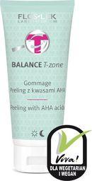 FLOSLEK FLOSLEK_Balance T-Zone Gommage peeling z kwasami AHA 125ml