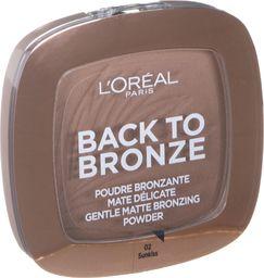 L'Oreal Paris Back To Bronze Gentle Matte Bronzing Powder 02 Sunkiss 9g