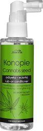 Joanna Konopie nawilżająco-wzmacniająca odżywka-wcierka do skóry głowy i włosów 100ml