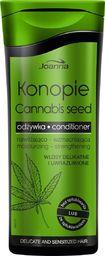 Joanna Konopie odżywka nawilżająco-wzmacniająca do włosów delikatnych i uwrażliwionych 200ml