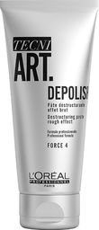 L'Oreal Professionnel L'OREAL PROFESSIONNEL_Tecni Art Depolish Destructuring Paste Rough Effect kremowa pasta strukturyzująca matująca do stylizacji włosów Force 4 100ml