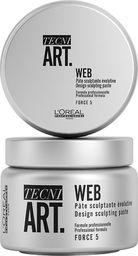 L'Oreal Paris L'OREAL PROFESSIONNEL_Tecni Art Web Design Sculpting Paste włóknisty krem rzeźbiący Force 5 150ml