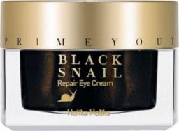 Holika Holika Krem pod oczy Prime Youth Black Snail Repair Eye Cream przeciwzmarszczkowy 30ml