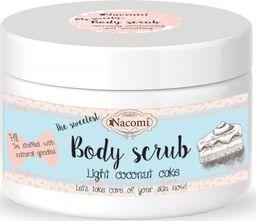 Nacomi NACOMI_Body Scrub peeling do ciała Lekki Kokosowy Tort 200g