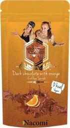 Nacomi NACOMI_Fit Lovers Coffee Scrub Vegan wegańsi peeling kawowy Gorzka Czekolada z Pomarańczą 125g
