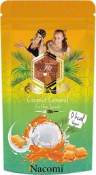 Nacomi NACOMI_Fit Lovers Coffee Scrub Vegan wegańsi peeling kawowy Kokos & Karmel 300g