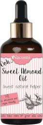 Nacomi Olej do ciała Sweet Almond Oil z pipetą 50ml