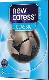 New Caress NEW CARESS_Classic lateksowe prezerwatywy 3szt