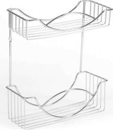 Koszyk prysznicowy AWD Interior prostokątny chrom (AWD02080052)