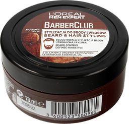 L'Oreal Paris L'OREAL_Men Expert Barber Club Beard & Hair Pomade pomada do włosów i brody dla mężczyzn 75ml