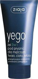 Ziaja ZIAJA_Yego żel 3w1 pod prysznic dla mężczyzn twarz ciało włosy 75ml