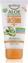 Equilibra EQUILIBRA_Aloe Sun Cream SPF30+ aloesowy krem przeciwsłoneczny 75ml