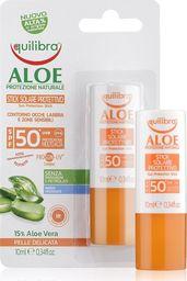 Equilibra EQUILIBRA_Aloe Sun Protection Stick SPF50+ aloesowy sztyft przeciwsłoneczny 10ml