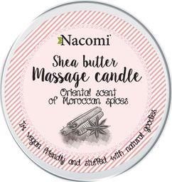 Nacomi NACOMI_Shea Butter Massage Candle świeca do masażu Oriental Scent 150g