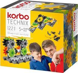Korbo Klocki Technix 122 elementy