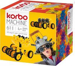 Korbo Klocki Machine 61 elementów