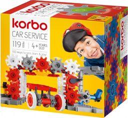 Korbo Klocki Car service 119 elementów