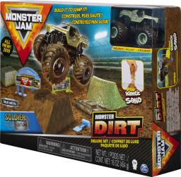 Spin Master Auto Monster Jam + Piasek kinetyczny Deluxe (20103747)