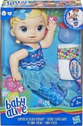 Hasbro Baby Alive Lala Migocząca Syrenka blondynka (E3693)
