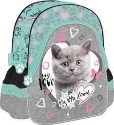 St. Majewski Plecak szkolno-wycieczkowy My Little Friend Kot Mi