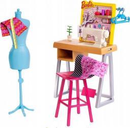 Mattel Barbie Zestaw mebelków Pracownia krawiecka (FJB25/FXP10)