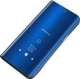 Hurtel Clear View Case futerał etui z klapką Huawei P30 Pro niebieski uniwersalny