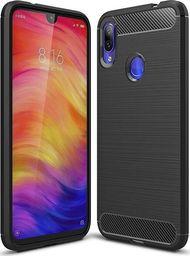Hurtel Carbon Case elastyczne etui pokrowiec Xiaomi Redmi Note 7 czarny uniwersalny