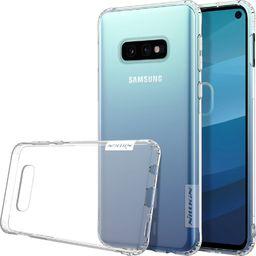 Nillkin Nillkin Nature żelowe etui pokrowiec ultra slim Samsung Galaxy S10e przezroczysty uniwersalny