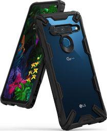Ringke Ringke Fusion X etui pancerny pokrowiec z ramką LG G8 ThinQ czarny (FXLG0006) uniwersalny