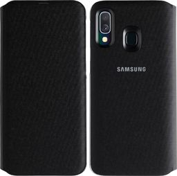 Samsung Wallet Cover do Samsung Galaxy A40 czarny (EF-WA405PBEGWW)