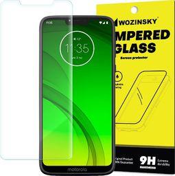 Wozinsky Wozinsky Tempered Glass szkło hartowane 9H Motorola Moto G7 Power (opakowanie – koperta) uniwersalny