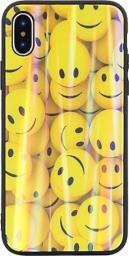 Beline Etui Glass iPhone 6/6S wzór 1 (emoticons)