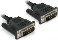 Kabel Delock DVI-D - DVI-D, 0.5m, Czarny (84369)