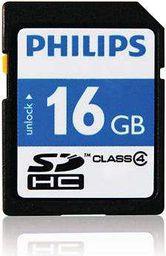 Karta pamięci Philips SDHC 16GB Class 4 (FM16SD35B/10)