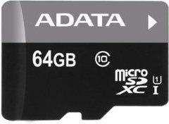 Karta MicroSD ADATA 64GB (AUSDX64GUICL10-RA1)