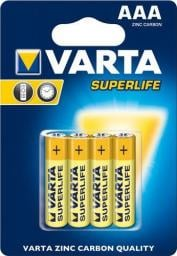 Varta Bateria Superlife AAA / R03 4szt.