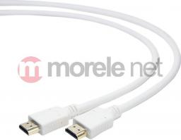 Kabel Gembird HDMI - HDMI, 3, Biały (CCHDMI4W10)