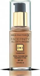 MAX FACTOR Podkład do twarzy Facefinity All Day Flawless 3in1 Foundation Spf20 85 Caramel 30ml