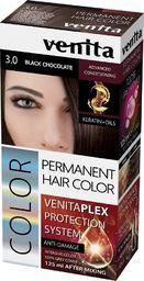 Venita VENITA_Plex Protection System Permanent Hair Color farba do włosów z systemem ochrony koloru 3.0 Black Chocolate