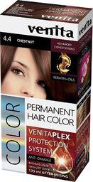 Venita VENITA_Plex Protection System Permanent Hair Color farba do włosów z systemem ochrony koloru 4.4 Chestnut